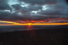 Sunrise on Skyline Drive (Beangrau12) Tags: sunrise skylinedrive virginia clouds landscape colors tamron16300 nikon3200