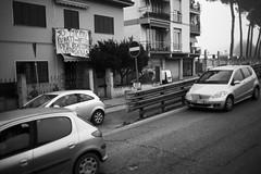L1045697 (Daniele Pisani) Tags: lenzuola signa protesta smog traffico code file lastra nebbia fuomo fumo strada