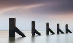 Essex Shoeburyness (daveknight1946) Tags: essex shoeburyness southend riverthames river beams wood water longexposure leefilters clouds pillars exquisite