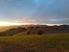 Dramatic autumn sunset at Hochgericht, St Peter (Black Forest, Baden, Germany) (Loeffle) Tags: 102018 germany allemagne deutschland baden blackforest schwarzwald hochgericht stpeter sonnenuntergang sunset kandel