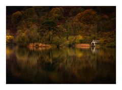 Rydal Reflections (Vemsteroo) Tags: rydal lakedistrict rydalwater lakes cumbria reflection dawn autumn fall boathouse still colourful outdoors beautiful nature travel canon 5d mkiv kasefilters 2470mm long exposure longexposure