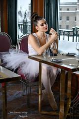 CHA_9741 pret (jeanfrancoislaforge) Tags: koz ballerine ballerina châteaufrontenac fairmont nikon d850 restaurant restaurantlechamplain quebec quebeccity fenêtre table beauté beauty tutu pointes
