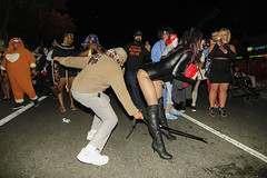 033 (morgan@morgangenser.com) Tags: westhollywood halloween 2018 weho carnival costumes crazy funny bizarre sexy naked lingerie donaldtrump stormydaniels photobymorgangenser scarytights exposing flashing photographers colorful lgbt dressingup dessingdown