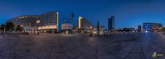 Berlin Alexanderplatz (Nachtwächters Erbe) Tags: blauestunde синийчас kékóra bluehodinu bluehour heurebleue horaazul panorama panoráma панорама deutschland germany allemagne alemania alemanha németország německo германия berlin berlín берлин berlim nachtaufnahme nightshot nuitscène escenanocturna cenadanoite ночнаясцена nočníscéna éjszakaijelenet