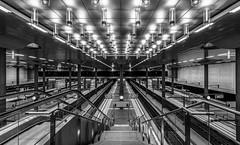 deserted (Blende1.8) Tags: deserted menschenleer berlin bahnhof hauptbahnhof hauptstadt hauptstadtbahnhof station trainstation mainstation architecture architektur urban wideangle nikon d700 afs 1635mm