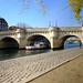 Balade sur les bords de Seine à deux, Paris.
