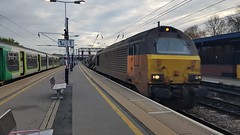 67027 3J93 (chriswarman) Tags: 67027 3j93 west hampstead toton bedford rhtt railway rail head treatment train wheels water cannon