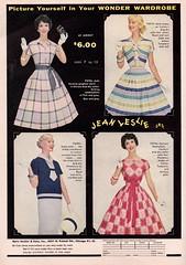 Jean Leslie Jrs. 1959 (barbiescanner) Tags: jeanlesliejrs vintageadvertising ritaegan vintage retro fashion vintagefashion 50s 50sfashions 1950s 1950sfashions 1959