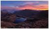 First Light Over Sprinkling Tarn, The Lake District (cropped version) (dandraw) Tags: thelakes thelakedistrict cumbria sprinklingtarn outdoors sunrise firstlight landscape fuji fujifilm xt3 blencathra castlecrag