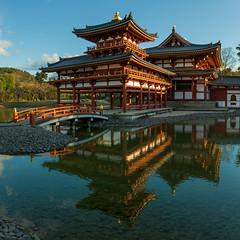 Byōdō-in (Walter Quirtmair) Tags: ifttt 500px temple byōdōin uji reflection pond water mirror japan quirtmair bridge
