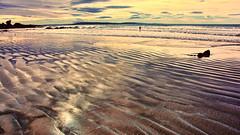 Lone swimmer (Miradortigre) Tags: beach shore costa playa arena sand newzealand landscape lonely solitario nuevazelanda travel viaje trip flickr photography