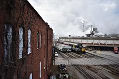 Canton, North Carolina (ryanstuart1) Tags: canton nc north carolina watco companies shortline railroad blue ridge southern brs emd paper mill industry locomotive train gp392 freight