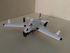 Lego SDP Mk. 3 Tyrant Kite UCAV (4) (Parm Brick) Tags: lego drone ucav moc mod afol legobrick military modern warfare battlefield aviation army stealth vehicle jet aircraft combat air militaryaviation