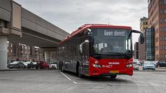 EBS 2006 just arrived at Spijkenisse Metro busstation (Nicky Boogaard) Tags: spijkenisse spijkenissemetrocentrum spijkenissecentrum scaniacitywide cngbus cng ebs2006 ebs egged