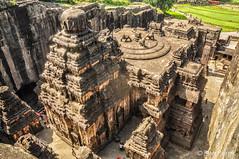 Ellora, Maharashtra, India (Ben Perek Photography) Tags: india ellora maharashtra caves cave hindu hinduism buddhism spectaclar architecture history temple palace carving rock monolith asia wonder unesco