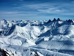 Au sommet du pic blanc (erichudson78) Tags: montagne france lepicblanc lalpedhuez mountains neige snow blanc white panasonicdmctz7 ciel sky isère alpes hiver winter