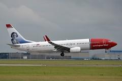 """Clara Campoamor"" Norwegian Air International EI-FJY Boeing 737-8JP Winglets cn/42272-6141 @ Buitenveldertbaan EHAM / AMS 14-08-2018 (Nabil Molinari Photography) Tags: claracampoamor norwegian air international eifjy boeing 7378jp winglets cn422726141 buitenveldertbaan eham ams 14082018"