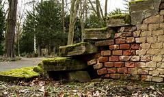 Alte Treppe (gutlaunefotos ☮) Tags: friedhof treppe alt
