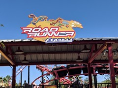 Six Flags Magic Mountain (coconut wireless) Tags: f2018tpt amusementpark attraction looneytoons looneytunes magicmountain panorama ride roadrunner roadrunnerexpress rollercoaster sign signage sixflags sixflagsmagicmountain themepark valencia warnerbros
