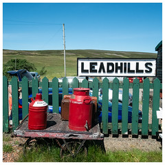 Leadhills Station, Leadhills (wwshack) Tags: leadhills leadhillsandwanlockheadrailway railway scotland southlanarkshire leadmining