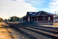 Johnston City C&EI Depot (davecantrell.net) Tags: illinois depot cei chicagoandeasternillinois johnstoncity