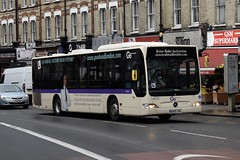Go-Ahead London Mercedes-Benz Citaro O530 rigid (MEC24 - BD09 ZRG) Driver Under Instruction (London Bus Breh) Tags: goahead goaheadgroup goaheadlondon londoncentral mercedes mercedesbenz mercedesbenzcitaro mercedesbenzcitaroo530 mercedesbenzcitaroo530rigid citaro citaroo530 mec mec24 bd09zrg 09reg london buses londonbuses bus drivertrainer driverunderinstruction newcross newcrossroad tfl transportforlondon