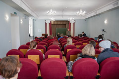 Встреча с Алексеем Алёхиным и Еленой Погорелой (litinstitutmaximgorky) Tags: litinstitut2018 students lection arion poets critics writers