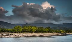 The rain is coming (Ignacio Ferre) Tags: embalsedelpontónalto sanildefonso segovia comunidaddecastillayleón españa spain landscape paisaje nikon naturaleza nature cloud nube