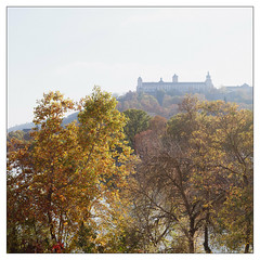 The Fresh Fortress (Thomas Listl) Tags: thomaslistl color sky würzburg trees castle fortress marienfestungwürzburg bright sunny autumn mood atmosphere square 35mm river main nature ngc