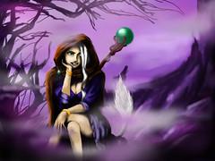 Akta (Lia Yank) Tags: dnd akta melec character warlock