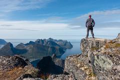 view over Mefjorden (cfaobam) Tags: mefjorden senja norway norwegen fjord water landscape landschaft nature nationalgeographic cfaobam travelphotography deepnorth berg meer felsen globetrotter naturehike