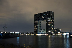 Pontsteigergebouw Amsterdam (Agaath Zwart) Tags: amsterdam haven pontsteiger pontsteigergebouw oudehavenamsterdam tasmantoren