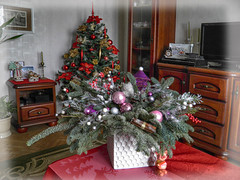 New year decor (janepesle) Tags: russia moscow new year christmas holiday celebration light indoor travel decoration home handmade tree room