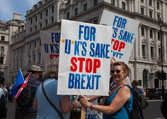Stop Brexit (justingreen19) Tags: 2018 brexit demo eu england europe europeanunion history london nationalmarch pallmall sw1 stjamess stopbrexit usco antibrexit banner city crowds currentaffairs demonstrate demonstration freedomofspeech future gather gathering government justingreen19 lettering message news organisedmarch peolp people peoplesmarch photojournalism placard political politics proeuropean protest protesting referendum remain remainers sign signage stayineurope typeface warning westminster