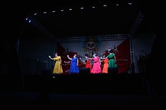 Stage Presence (Pedestrian Photographer) Tags: ddlm oct dsc6232 october 2018 dia de los muertos hollywood forever cemetery dance dancers dancing stage la catrina laurie marie contemporary arte movement company