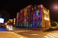 311 août 2018 - Auvergne, Le Puy-en-Velay, le Théâtre du Puy illuminé, Place Michelet (paspog) Tags: france auvergne hauteloire lepuyenvelay illuminations août august 2018 théâtre théâtredupuy