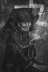 Yunnan, China (TOONMAN_blchin) Tags: yunnan china toonman bwportrait
