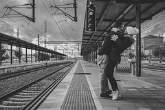 Train station (danipaez1987) Tags: españa estacion palencia tren