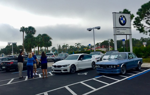 2017 Nov NFM/BMW of Ft Myers Cars & Coffee