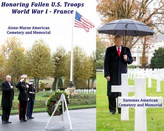 President Trump and Generals Honor Fallen WWI U.S. Troops