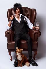 Man with a cat 1 (*Ryuugan*) Tags: iplehouseleonard iplehouse leonard bjd doll abjd