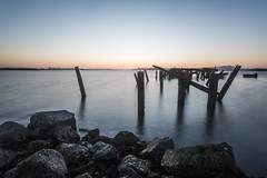 fleming point (eb78) Tags: ca california eastbay longexposure albany flemingpoint pier ruin abandoned decay