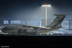 Volga-Dnepr Airlines / Ilyushin Il-76 / RA-76951 (schmidli123) Tags: zrh zurichairport zrhairport cargo freighter volgadnepr volgadneprairlines il76 ilyushin ilyushin76 nightshot ra76951