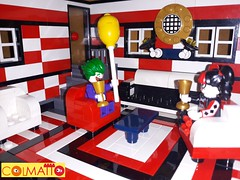 THe Harley Quinn's living room (ArcFaus80) Tags: harley quinn joker living room lego moc vignette