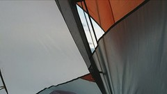 45° and windy (Dave* Seven One) Tags: florida alabama camping bayfrontcamping pensacolabay waterfront pensacolafl ocean bay gulfofmexico campsite waterfrontcampsite beach sunrise sunset baysidecampsite