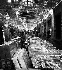 """Culture In Gallery"" (giannipaoloziliani) Tags: streetmarket market lightandshadow liguria capturestreets flickr focalpoint streetphotography streetlife urbanstreet urbanexplorer italy italia genoa genova gallery galleria books libri blackandwhite biancoenero nikonphotography nikon nikoncamera"