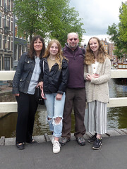 Family on holiday (ExeDave) Tags: p1150209 family tracey alice david olivia amsterdam august 2018 exedave dave holiday netherlands