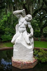 Achieving Destiny (dayman1776) Tags: sony a6000 brookgreen gardens garden sculpture statue skulptur sculptor sculptures marble myrtle beach south carolina carving male man nude classical sculpting chisel hammer strong