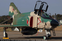 57-6909 | RF-4EJ Kai Phantom II | JASDF 501 Hikotai (james.ronayne) Tags: 576909 rf4ej kai phantom ii jasdf 501 hikotai aeroplane airplane plane aircraft jet fighter fast military aviation ibr rjah hyakuri canon 80d 100400mm raw