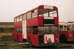 Dublin Bus D790 (790BIK). (Fred Dean Jnr) Tags: busathacliath dublinbus d790 790bik ik broadstonedepotdublin february1998 leyland atlantean cie msl drivertrainingvehicle dublinbusdrivingschool